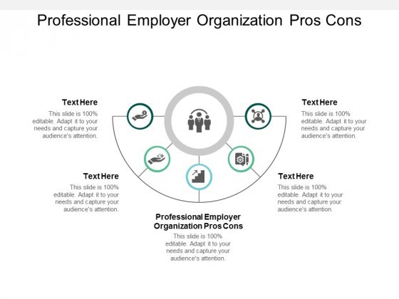 Professional Employer Organization Pros Cons Ppt PowerPoint Presentation Infographics Visuals Cpb