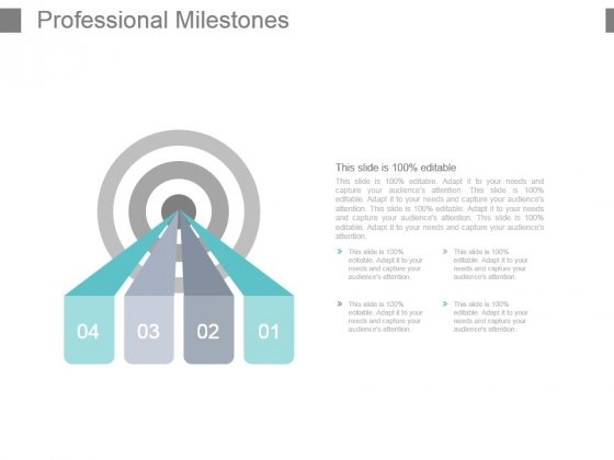 Professional Milestones Powerpoint Presentation Examples