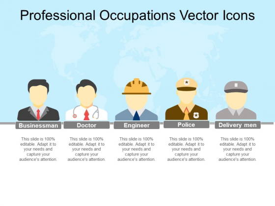 Professional Occupations Vector Icons Ppt PowerPoint Presentation Model Graphics