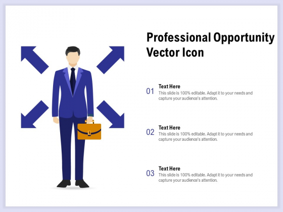 Professional Opportunity Vector Icon Ppt PowerPoint Presentation Slides
