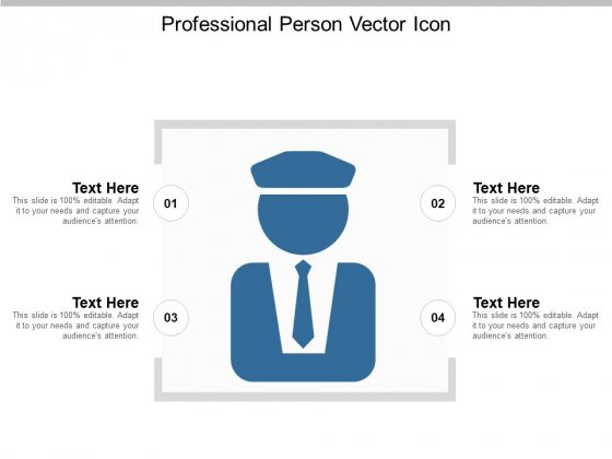 Professional Person Vector Icon Ppt PowerPoint Presentation Outline Icon