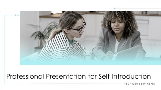 Professional_Presentation_For_Self_Introduction_Ppt_PowerPoint_Presentation_Complete_With_Slides_Slide_1