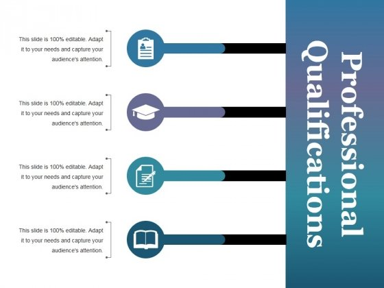 Professional Qualifications Ppt PowerPoint Presentation Gallery Samples