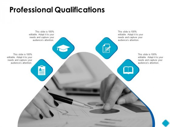 Professional Qualifications Ppt PowerPoint Presentation Inspiration Clipart Images