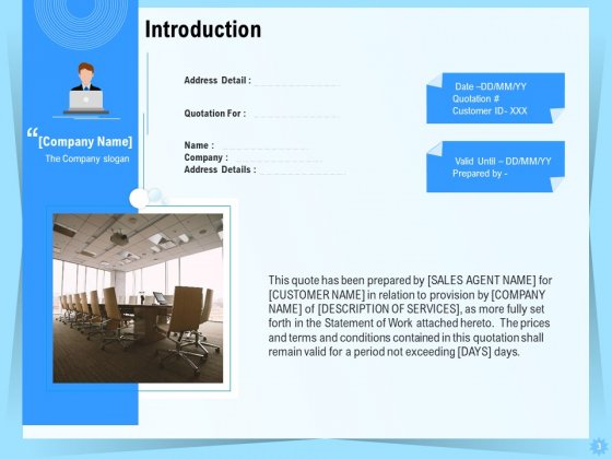 Professional_Quotation_And_Estimation_Solutions_Proposal_Ppt_PowerPoint_Presentation_Complete_Deck_With_Slides_Slide_3