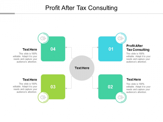 Profit After Tax Consulting Ppt PowerPoint Presentation Summary Templates Cpb