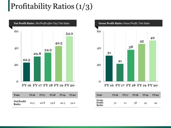 Profitability Ratios Template 2 Ppt PowerPoint Presentation Summary Graphics