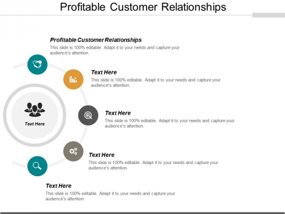 Profitable Customer Relationships Ppt PowerPoint Presentation Outline Inspiration Cpb