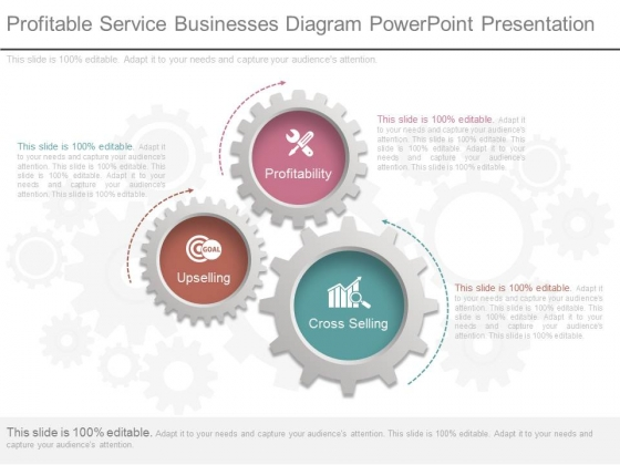 Profitable Service Businesses Diagram Powerpoint Presentation