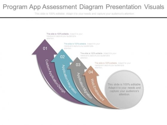 Program App Assessment Diagram Presentation Visuals
