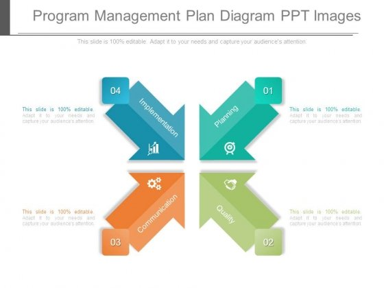 Program Management Plan Diagram Ppt Images  Powerpoint Templates