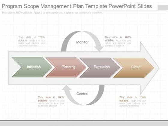 Program Scope Management Plan Template Powerpoint Slides