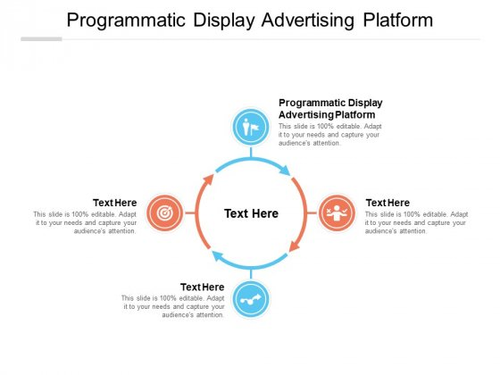 Programmatic Display Advertising Platform Ppt PowerPoint Presentation Pictures Visuals Cpb