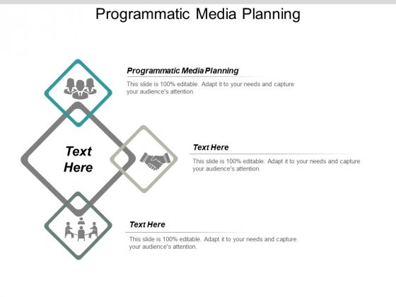 Programmatic Media Planning Ppt PowerPoint Presentation Model Graphic Images Cpb