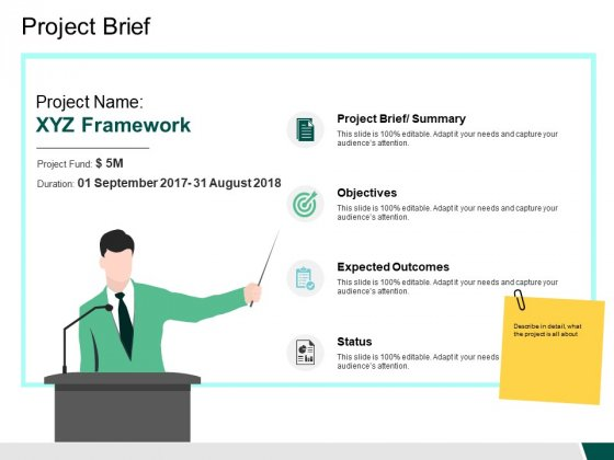 Project Brief Objectives Ppt PowerPoint Presentation Ideas Topics