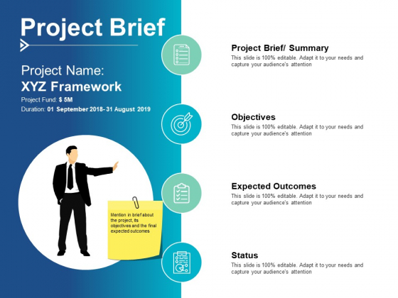 Project Brief Objectives Ppt PowerPoint Presentation Show Background Designs