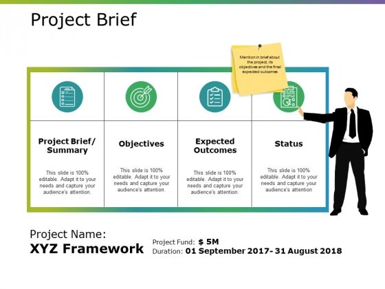 Project Brief Ppt PowerPoint Presentation Ideas Files