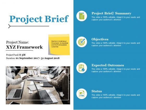 Project Brief Ppt PowerPoint Presentation Infographics Graphics Pictures
