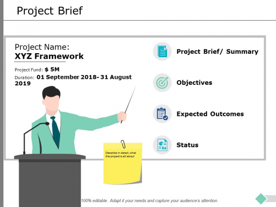 Project Brief Ppt PowerPoint Presentation Infographics Templates