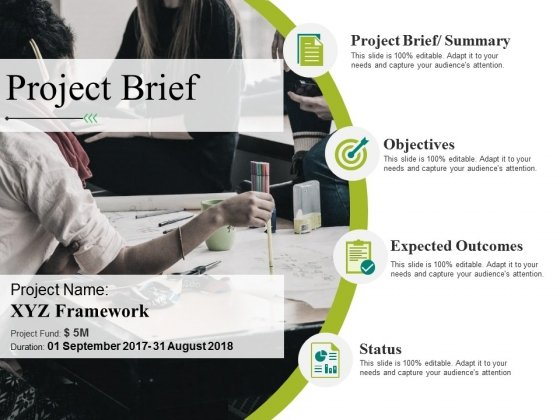 Project Brief Ppt PowerPoint Presentation Inspiration Example File
