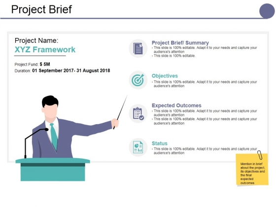 Project Brief Ppt PowerPoint Presentation Model Designs