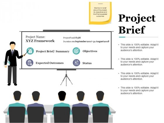 Project Brief Ppt PowerPoint Presentation Summary Layout
