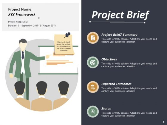 Project Brief Ppt PowerPoint Presentation Summary Slide