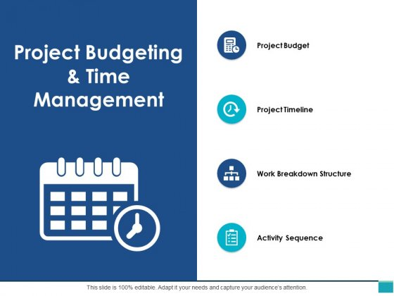 Project Budgeting And Time Management Ppt PowerPoint Presentation File Background Image