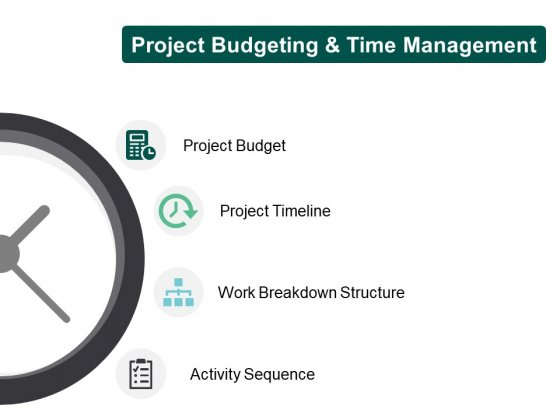 Project Budgeting And Time Management Project Budget Ppt PowerPoint Presentation Infographic Template Icon