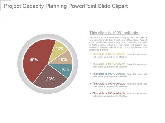 Project Capacity Planning Powerpoint Slide Clipart
