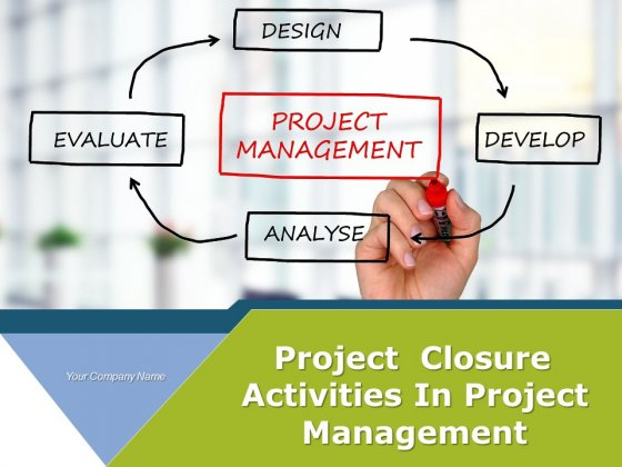 Project Closure Activities In Project Management Ppt PowerPoint Presentation Complete Deck With Slides