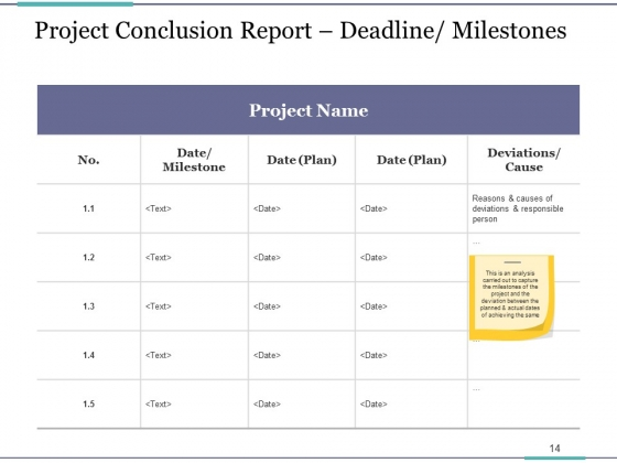 Project_Closure_Process_Steps_Ppt_PowerPoint_Presentation_Complete_Deck_With_Slides_Slide_14