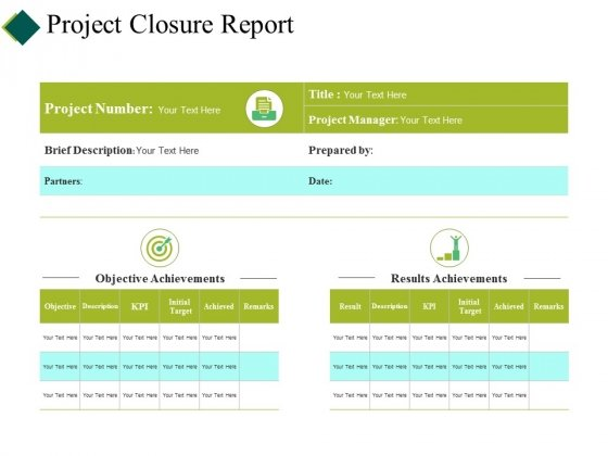 Project Closure Report Ppt PowerPoint Presentation Show Structure