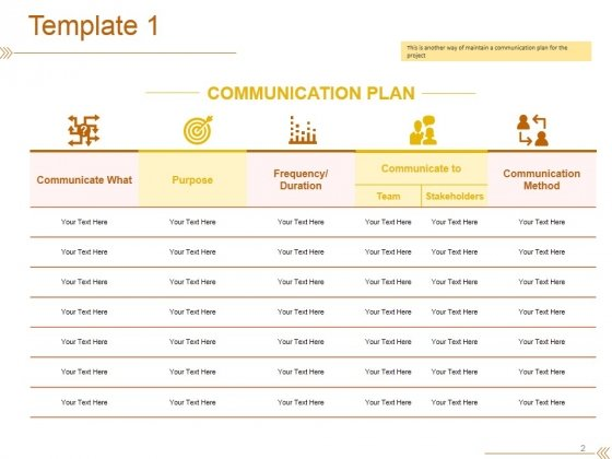 Project_Communication_Plan_Ppt_PowerPoint_Presentation_Complete_Deck_With_Slides_Slide_2