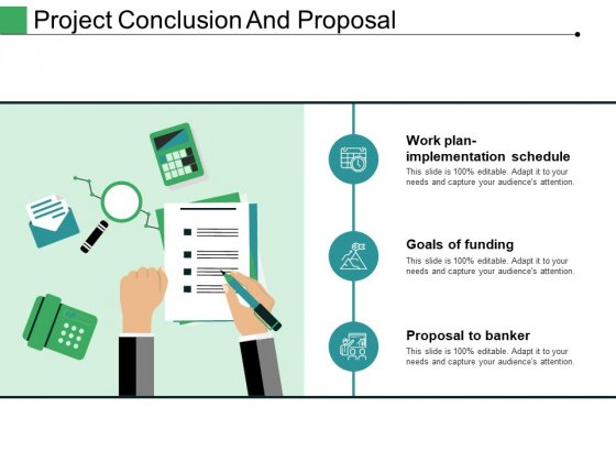 Project Conclusion And Proposal Ppt PowerPoint Presentation Gallery Vector
