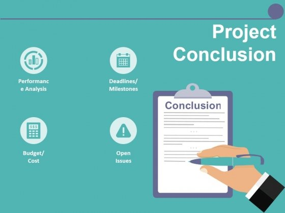 Project Conclusion Ppt PowerPoint Presentation Outline Templates