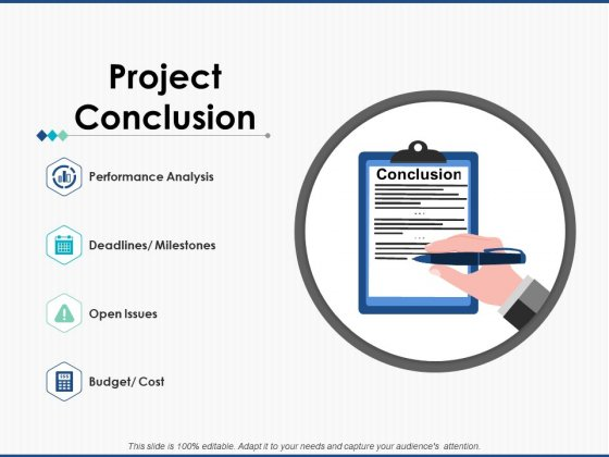 Project Conclusion Strategy Ppt PowerPoint Presentation Model Guidelines