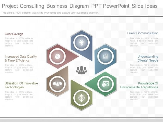 Project Consulting Business Diagram Ppt Powerpoint Slide Ideas