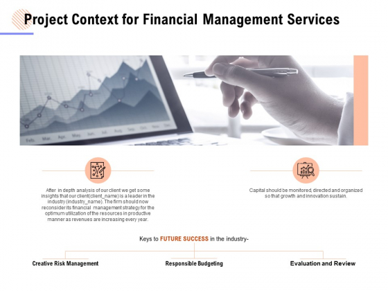 Project Context For Financial Management Services Ppt PowerPoint Presentation Layouts Display