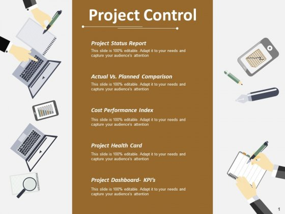 Project Control Ppt PowerPoint Presentation File Topics