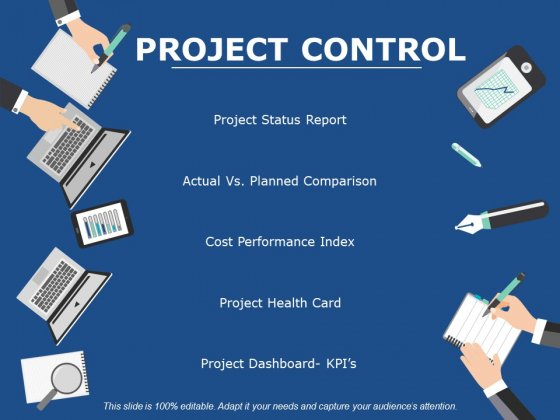Project Control Ppt PowerPoint Presentation Inspiration Slideshow