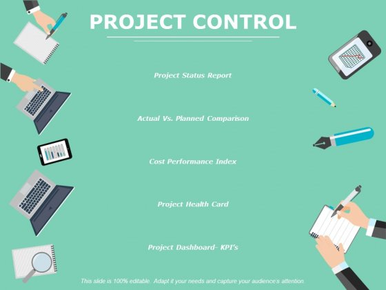 Project Control Ppt PowerPoint Presentation Outline Clipart Images