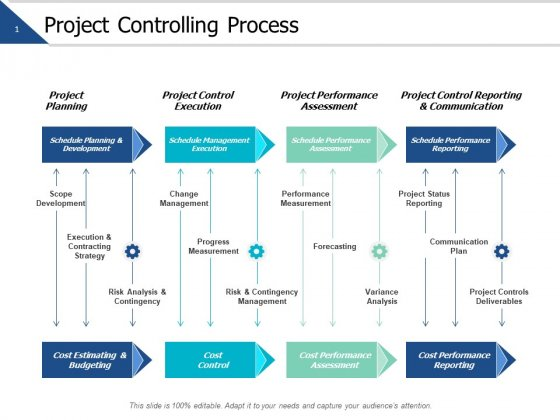 Project Controlling Process Ppt PowerPoint Presentation Infographics Images