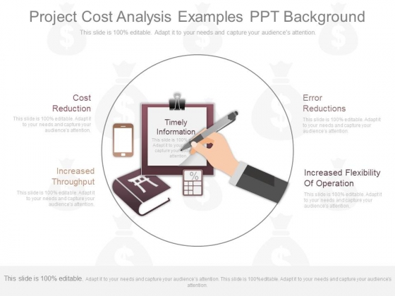 Project Cost Analysis Examples Ppt Background