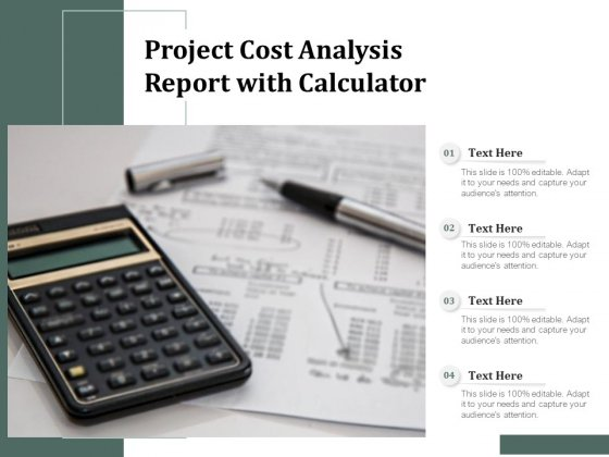 Project_Cost_Analysis_Report_With_Calculator_Ppt_PowerPoint_Presentation_Ideas_Summary_PDF_Slide_1