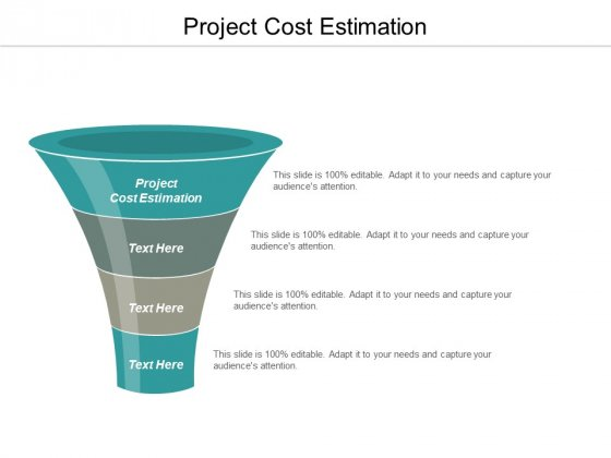Project Cost Estimation Ppt PowerPoint Presentation Infographics File Formats Cpb