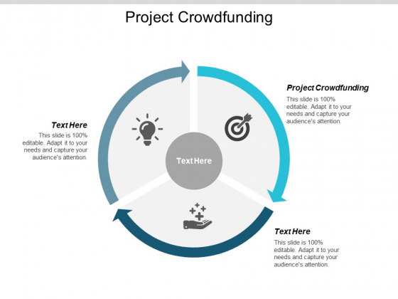 Project Crowdfunding Ppt PowerPoint Presentation Professional Clipart Images Cpb