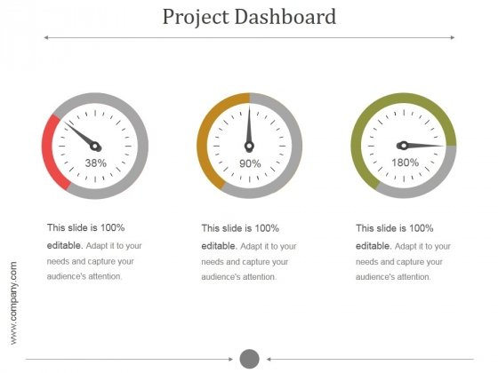 Project Dashboard Ppt PowerPoint Presentation Clipart
