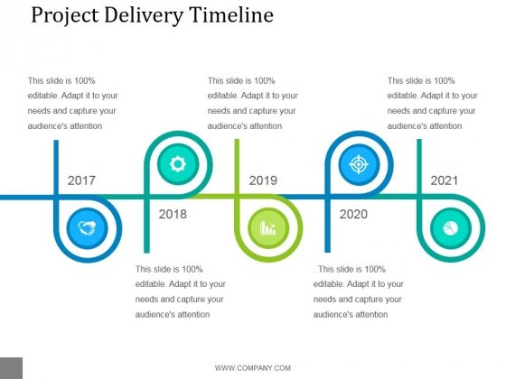 Project Delivery Timeline Ppt PowerPoint Presentation Visuals