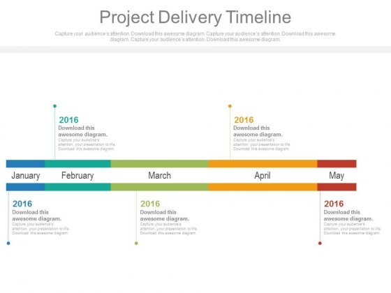 Project Delivery Timeline Ppt Slides